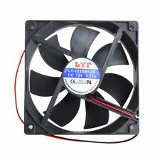 Ventola Pc 120mm x 25mm PC Chassis Case Fan 12V / 0.25A 1200RPM 60CFM Linq