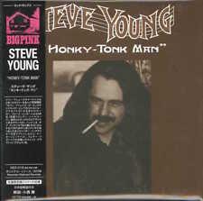 STEVE YOUNG-HONKY-TONK MAN-IMPORT MINI LP CD WITH JAPAN OBI Ltd/Ed G09