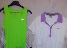 Lot of 2 Nike Women's Dri-fit Exercise Workout Shirts L EUC