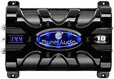 Planet Audio Pc10F Planet 10 Farad Capacitor with Digital Voltage Display Blu.