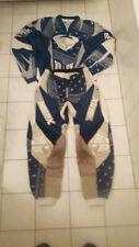 Motocross Hose Hemd Ched Reed Jersey Shirt blau weiß Combo Kombi THOR 32 L / XL