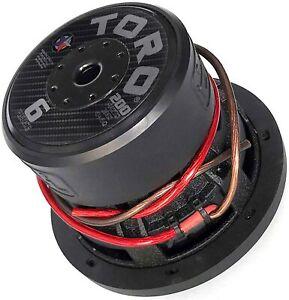 Toro Tech Audio – Fierce 6, 6.5 Inch 200 Watts RMS Dual 4Ω – Car Subwoofer