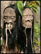 Long Haired Shrunken Head Car Mirror Dangle Goth 50s Eco Friendly Toy