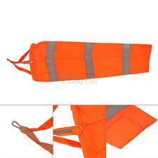 Windsack Windanzeiger Windspiel Orange Fluorescence 80cm für Garten Balkon Dekor