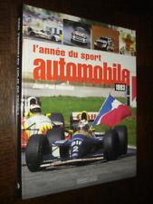 L'ANNEE DU SPORT AUTOMOBILE 1993 - Jean-Paul Renvoizé - Formule 1 Rallyes...