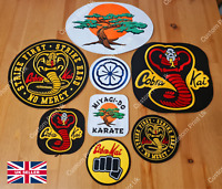 Cobra Kai Large Badge Collectors Collection + Free Gift