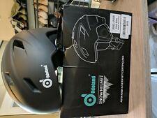 New listing Odoland Unisex Snow Helmet Black Size Large