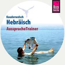 Reise Know-How AusspracheTrainer Hebräisch (Kauderwelsch, Audio-CD) von...