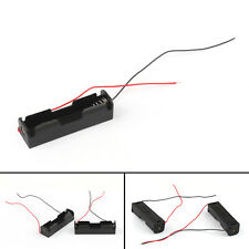 5x Plastic Battery Holder Storage Box Case For 1x18650 Rechargeable Battery Ua