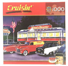 Jigsaw puzzle Americana Dinner at the Red Arrow Diner 1000 piece