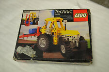 Lego Technic 8849 Tracteur 1986 Boite / Notice