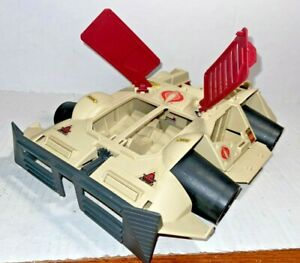 GI Joe 1990 Red Vintage Hasbro Cobra Rage Tank with one Rocket Missile - TOP