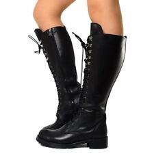 Stivali anfibi donna alti   Acquisti Online su eBay