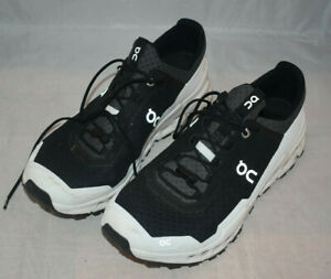 Men's On Running Cloudultra Black/White Trail Size 10.5 Running Shoes No Box