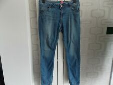 New Look Yes Yes Blue STRETCH SKINNY Jeans, Size 14