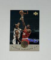 1995 Upper Deck Electric Court Hakeem Olajuwon All NBA #178 Houston Rockets HOF