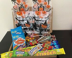 Halloween Sweets Gift Box Trick or Treat Selection Personalised Hamper Small