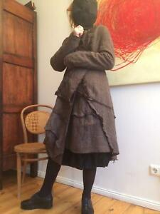RUNDHOLZ Mantel Schurwolle / Coat Virgin Wool NWT Made in Germany