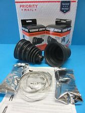 Pair Set 2 Universal Front Inner CV Joint Boot Kits Left & Right Easy install