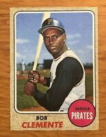 1968 Topps Reprint #150 Roberto Bob Clemente Pittsburgh Pirates Card MINT RP