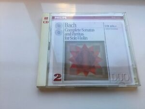 Johann Sebastian Bach : Bach - Complete Sonatas and Paritas for Solo Violin CD