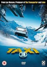 Taxi 3 Digital Versatile Disc DVD Region 2