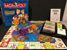 Monopoly Scooby Doo Collectors Edition Parker Brothers Board Game Complete!