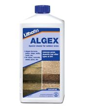Lithofin Algex 1L Stone,Path,Fence,Terrace,Brick,Wall,Stair,Roof,Grave cleaner