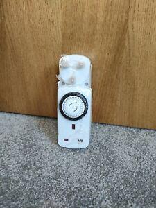 IKEA TANDA Timer X 2 Pack 24 Hour Indoor Earthed White Plug Socket