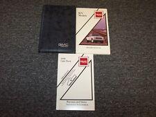 1990 GMC R V 10 20 30 Pickup Truck Owner Owner's Operator User Guide Manual Set