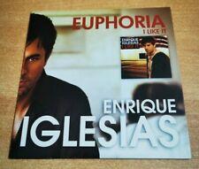 ENRIQUE IGLESIAS I like it + JUAN LUIS GUERRA RARE SPANISH PROMO CD SINGLE 2010