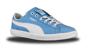 Puma Herren Sneaker Schuhe Archive Lite Low hellblau Washed Canvas