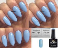BLUESKY GEL POLISH BABY BLUE SKY QUEEN SUMMER NAIL UV LED SOAK OFF, ANY 2 =FILE