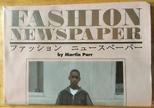 SIGNED Martin Parr Fashion Newspaper NEW CONDITION