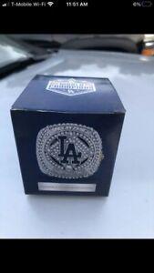 Dodgers 2020 World Series Replica Ring SGA Championship Ring! NEW Presale 9/30