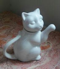 Ceramic Cat Creamer or small Pitcher