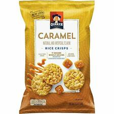 Quaker Caramel Rice Crisps Gluten - 3.52 Oz - Pack of 12