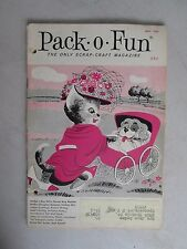 Pack-O-Fun May 1964 The Only Scrap-Craft Magazine
