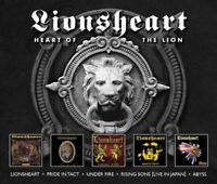 LIONSHEART - HEART OF THE LION (5CD-SET)  5 CD NEU