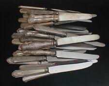 Sterling Silver Scrap Lot 25 knives - 1/2 T oz each
