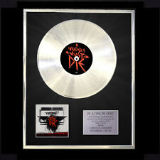 THE PRODIGY INVADERS MUST DIE CD PLATINUM DISC FREE P+P!!