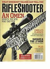 PETERSEN'S  RIFLE SHOOTER, NOVEMBER / DECEMBER, 2013 ( SAVAGE & THE .17 WSM  )