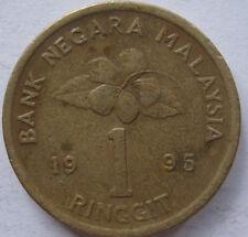 Malaysia RM1 1995 coin