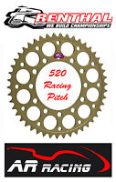 Renthal 40 T Rear Sprocket to fit Dymag Wheels Year 2000 on ( 520 Race Pitch)