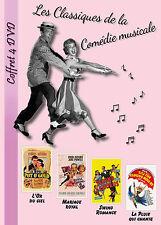Coffret 4 DVD L'OR DU CIEL - MARIAGE ROYAL - SWING ROMANCE - LA PLUIE QUI CHANTE
