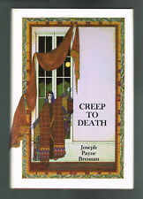 Creep To Death by Joseph Payne Brennan 1981 Signed Limited Hard Cover