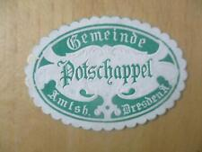 (33008) Siegelmarke - Gemeinde Potschappel
