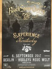 BLACK STONE CHERRY 2017 Berlino-ORIG. CONCERT POSTER -- manifesto concerto a1 NUOVO