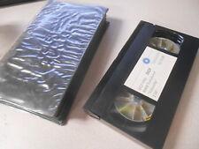 """BMW VHS Video Cassette Tape 15.12.88 DCF 1002 Teledienst Videoclip 3'30"""" # J"""