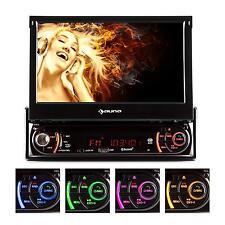 "CAR RADIO BLUETOOTH DVD/CD PLAYER FLIP-DOWN 7"" TFT SCREEN SD USB MP3 AUX AM FM"